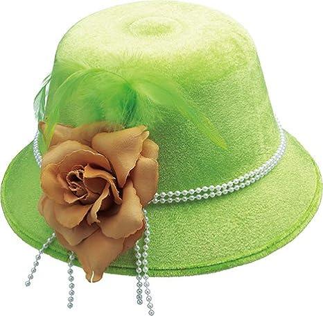 Cappello da donna fiore cappello accessori carnevale Halloween ... aba1f7bb959b