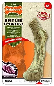 Nylabone Antler Alternative in Venison Flavour, Large