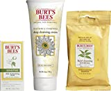 Burts Bees Face Wipes Burt's Bees Basic Face Care Kit