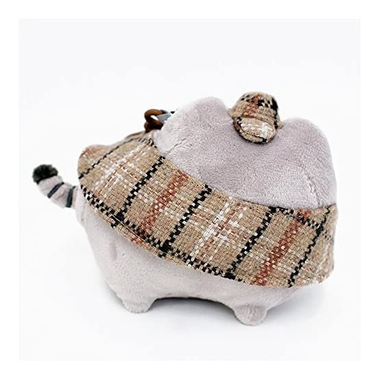 Pusheen Detective Plush   Bag Clip - 4.5 Inches 6