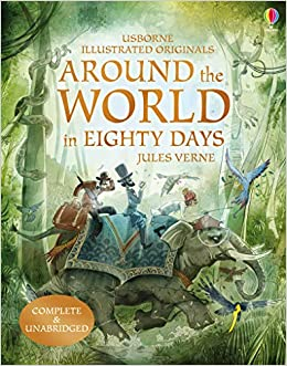 AROUND THE WORLD IN EIGHTY DAYS (non illustrated)