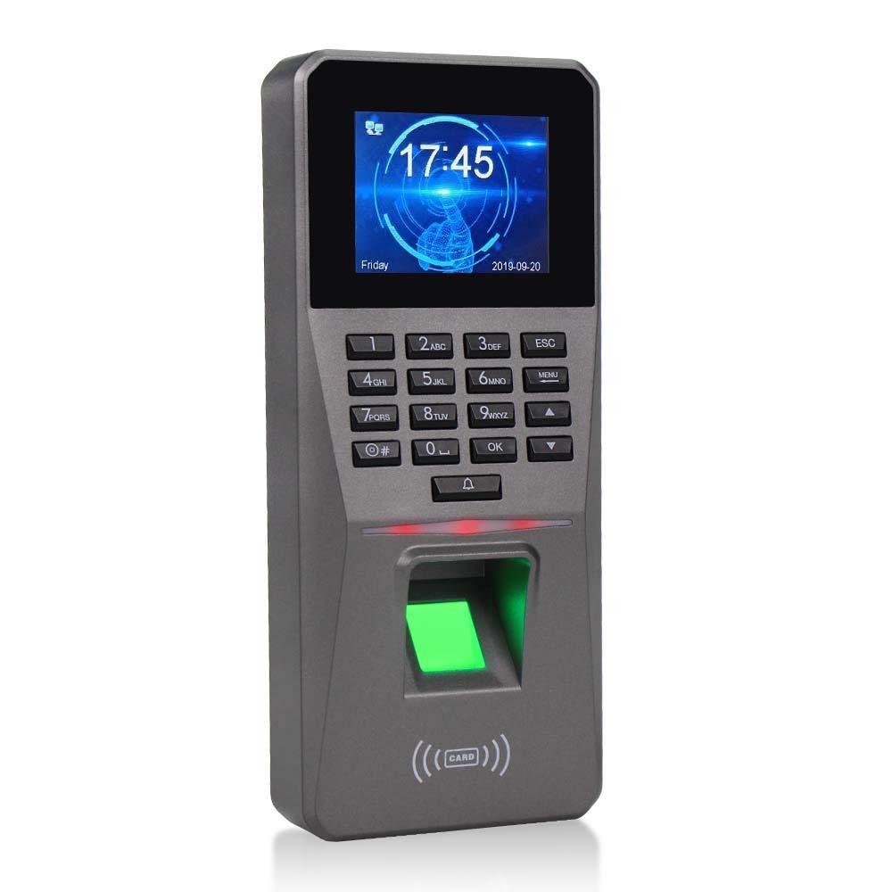 KDL Máquina de asistencia de control de acceso por huella digital RFID TCP/IP Registro de reloj de tiempo de entrada de empleado Controlador biométrico de puerta con huella digital con puerto USB