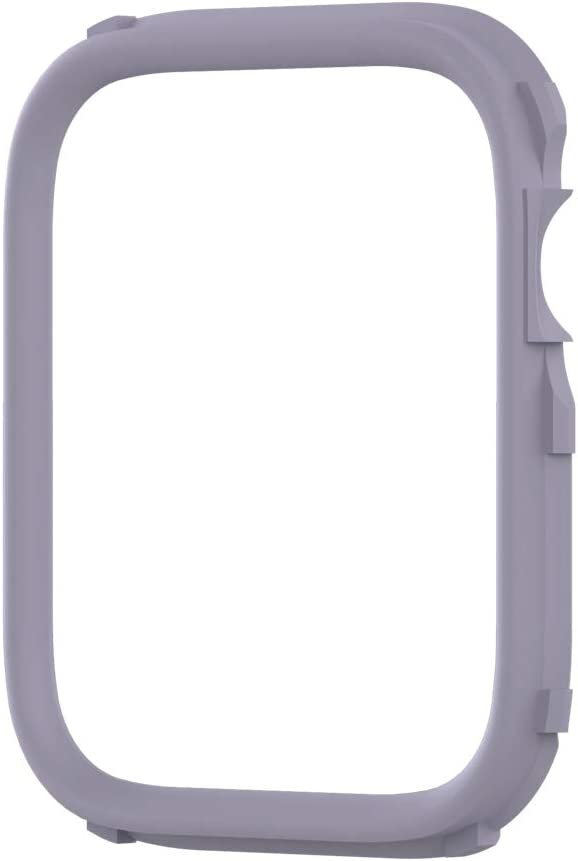 RhinoShield CrashGuard NX Extra Rim [ONLY] Compatible with Apple Watch SE [44mm] & Series 6/5 / 4 [44mm] & Series 3/2 / 1 [42mm] | Additional Accessory for RhinoShield Apple Watch Case - Lavender