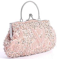 Elegantly Beaded Luxurious Handbag
