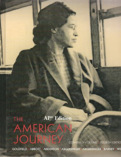 The American Journey: A History of the United States High School Edition (Inquiry into crucial American problems)