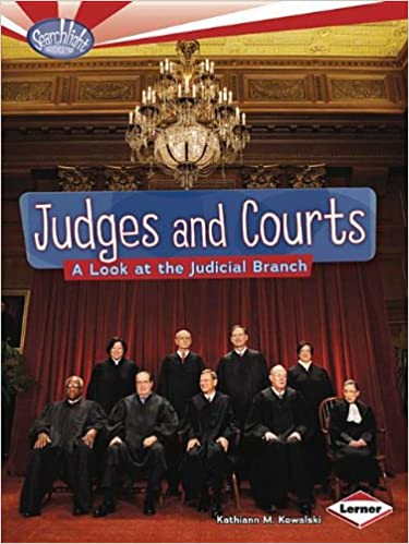 Descarga de libros de google para un kindle Judges and Courts: A Look at the Judicial Branch (Searchlight Books - How Does Government Work?) in Spanish PDF FB2 by Kathiann M. Kowalski 0761385622