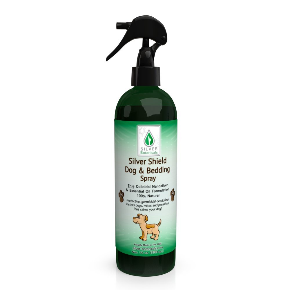 Silver Shield Dog & Bedding Spray | All Natural Colloidal Silver Dog Hygiene Spray