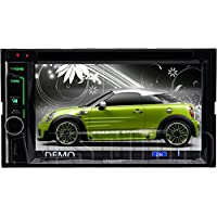 Kenwood DDX6703S Double DIN Bluetooth In-Dash DVD/CD/AM/FM Car Stereo w/ 6.2 Touch Screen with Apple Carplay and Built-in HD Radio