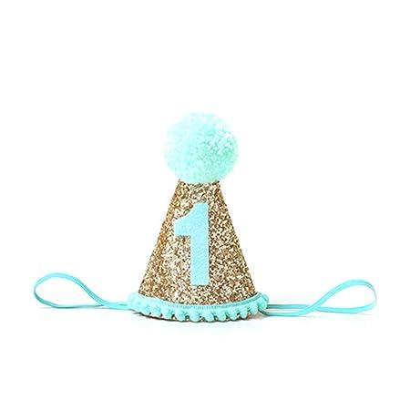 Nicedier-Tech - Gorro de cumpleaños para bebé, diseño de ...