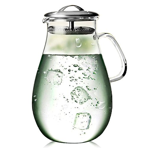 64 ounce glass pitcher - 4