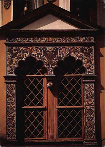Moscow Kremlin - Terem Palace, Facade Window Moscow, Russia Original Vintage Postcard