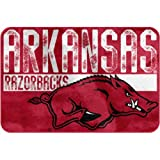 NCAA Arkansas Razorbacks ''Worn Out'' Bath Mat, 20'' x 30''