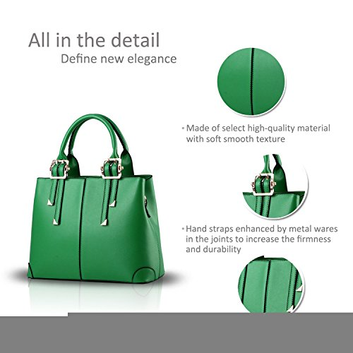 light bag blue 2017 purse handbag Green casual New fashion ADOO portable bag messenger for shoulder ladies U6YF6