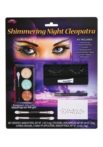 Shimmering Cleopatra Makeup (Makeup For Cleopatra Halloween Costume)
