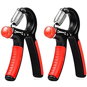 Hand Grip Strengthener Eoney Adjustable Hand Exercisers with Resistance Range 22 to 88 Lbs