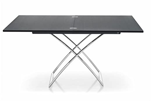 Calligaris Tavolo regolabile in 7 altezze Magic-J Wood – Grafite