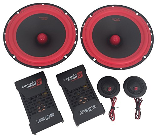 CERWIN VEGA V465C 6.5-Inch 400 Watts Max/100Watts RMS Power Handling 2-Way Component Speaker - Outlet Shopping In Vegas