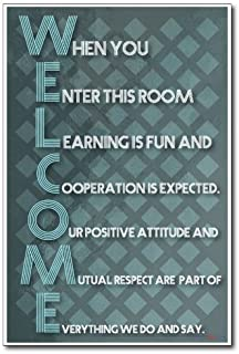Amazon.com: Notice To All Students, motivational classroom poster ...