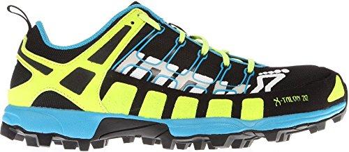 Inov-8 X-Talon 212 Trail Unisex Running Shoe,Black/Yellow/Blue,11.5 M/13 W