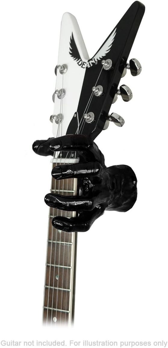 Guitar Grip Copper Antique Male Hand left Wandhalter für Gitarre Bass