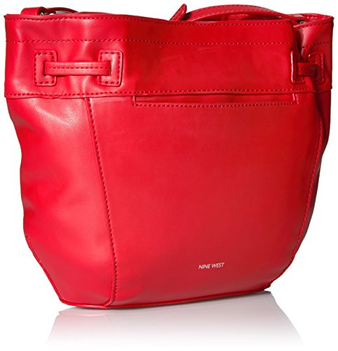 Crossbody Dark Take Bag Camel Bucket a Red Nine Lift West Dynasty 7IycqpWAT