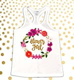Flower Girl Tank Top, Flower Girl Shirt, Flower Girl Gift, Flower Girl Tank, Flower Girl Tee, Flower Girl Tank, Flower Girls, Personalized