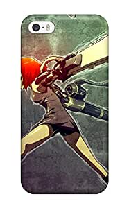 Rugged Skin Case Cover For Iphone 5/5s- Eco-friendly Packaging(katawa Shoujo)