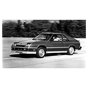 1983 Dodge Shelby Charger Automobile Photo Poster
