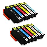 Big Dew 12 Pack Remanufactured 277XL Ink Cartridges Replacement For Epson 277 277XL T277 Ink Cartridges Used in Epson Expression XP-850 XP-860 XP-950 XP-960 Printer