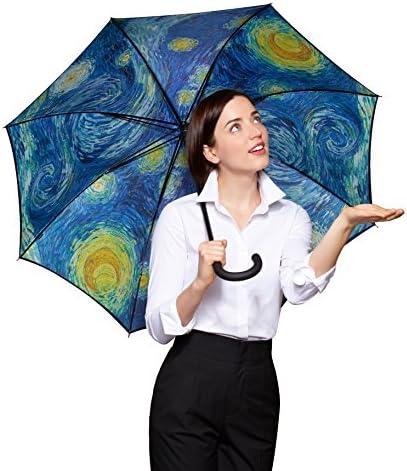 Vincent van Gogh Umbrella Starry Night Umbrella Starry Night