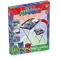 Furkan Toys - Pjmasks Masa Sandalye Seti