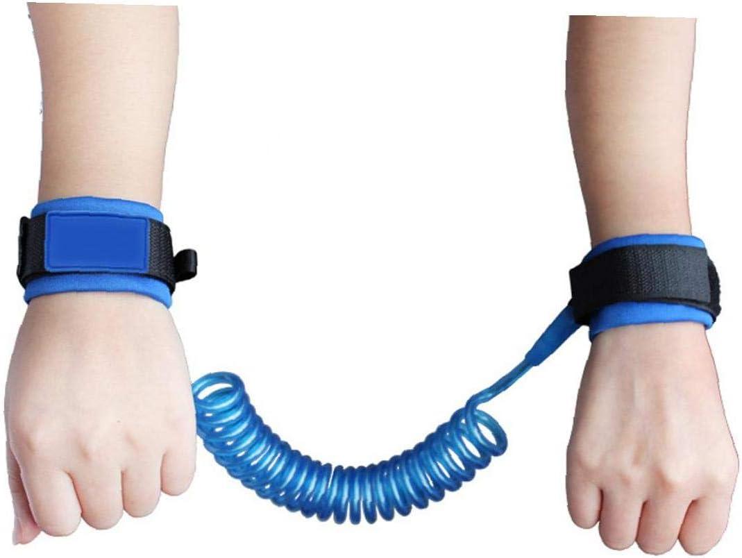 Bleu Nicedier B/éb/é Anti-Perdu Corde Enfant Anti-Manque Cha/îne De Traction Poignet Corde Corde De S/écurit/é Ext/érieure Marche Anti-Perte Wristband 2 M/ètres