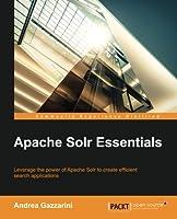 Apache Solr Essentials Front Cover