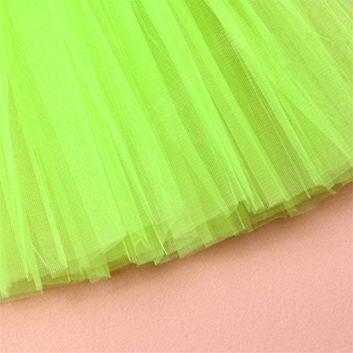 Half Skirt Pleated Gauze Green Tutu Womens Mesh TIFENNY Waist Dress Sale Dancing High Hot mesh Solid Adult pxvY8q