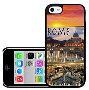 Beautiful Rome, Italy At Sunrise Vacation Spot Hard Snap on Phone Case (iPhone 5c)
