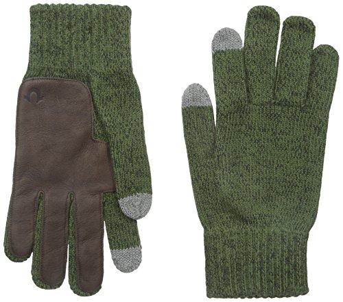 True-Religion-Mens-Two-Tone-Knit-Touchtek-Gloves