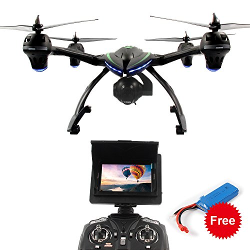 Dazhong JXD 6 axis gyro 5.8G FPV Drone with 2.0MP HD Real-time Aerial Camera, High Hold Mode &Headless Mode &One Key Return RC Quadcopter And Extra Battery £¨509G£
