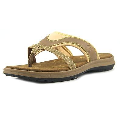 fe854ba3d441b BEARPAW Womens Kathryn Open Toe Casual Slide Sandals