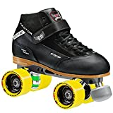 Stomp Factor-1 Derby Skates color black size 8