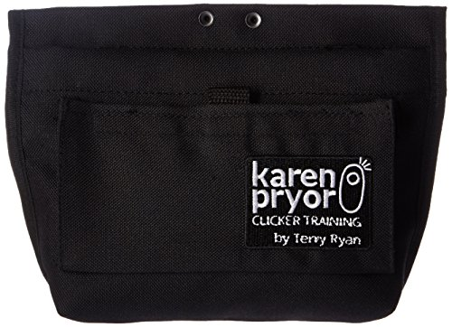 Karen Pryor Clicker Training Black Treat Pouch by Terry Ryan