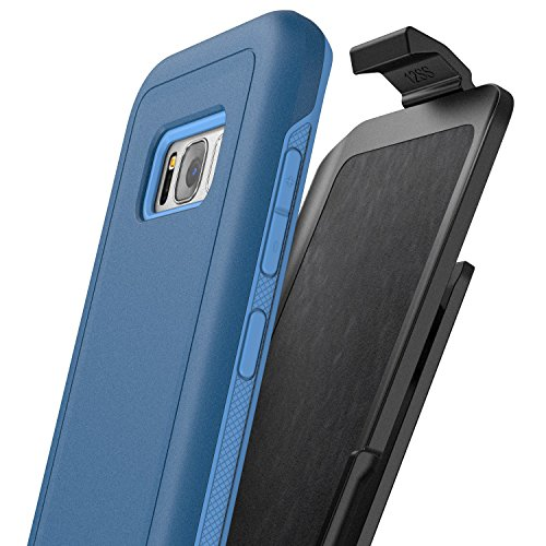 Galaxy S8 Plus Belt Clip Case, Protective Impact Armor w/ Secure-fit Holster – Rebel Series By Encased (Samsung S8+)
