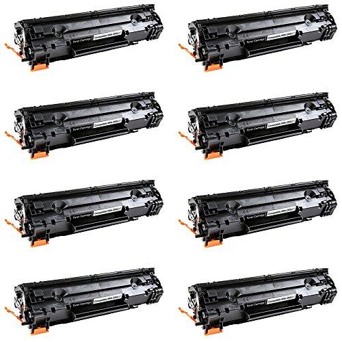 DS 8 Pack New C337 Black Toner Cartridge For Canon 337 CRG337 ImageClass MF227dw