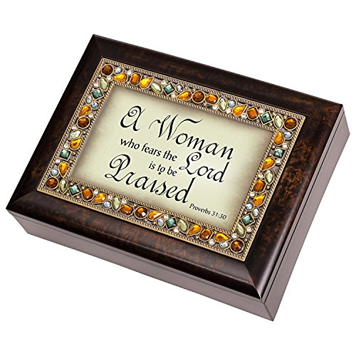 Cottage Garden Woman Praised Proverbs product image