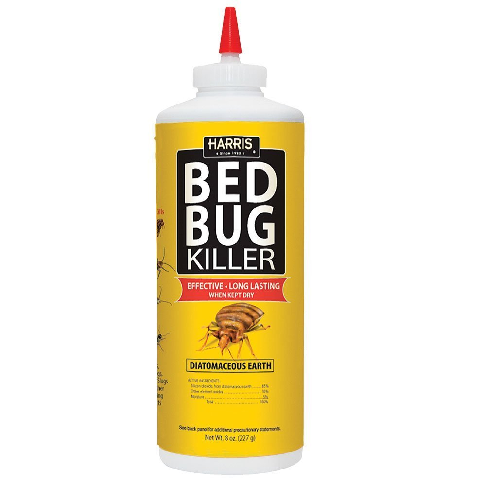 Harris Bed Bug Killer, Diatomaceous Earth Powder, Fast Kill with Extended Residual Protection (8oz) Review
