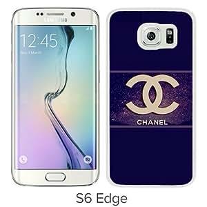 Fashionabe Samsung Galaxy S6 Edge Case ,Popular And Unique Designed Case With C hanel 63 (3) Black Samsung Galaxy S6 Edge Cover Phone Case