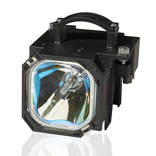 915p028010 Lamp - Mitsubishi WD-52526 Projector Housing with Genuine Original OEM Bulb