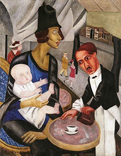 Marie Danforth Vassilieff Cafe de la Rotonde 1921 Private Collection 30