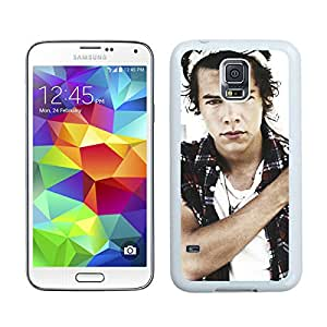 For Samsung Galaxy S5,100% Brand New Harry Styles 1 White For Samsung Galaxy S5 i9600 Case
