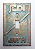 Star Wars (Jedi/Sith) Light Switch Cover (patina)