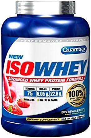 Quamtrax Proteina Iso Whey Mango y Fruta de la Pasión- 2267 gr